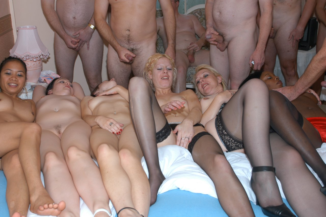 Interracial gangbang bukkake 4 tight hoe tweety valentine