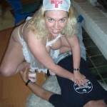 Naughty nurse gets spunked on