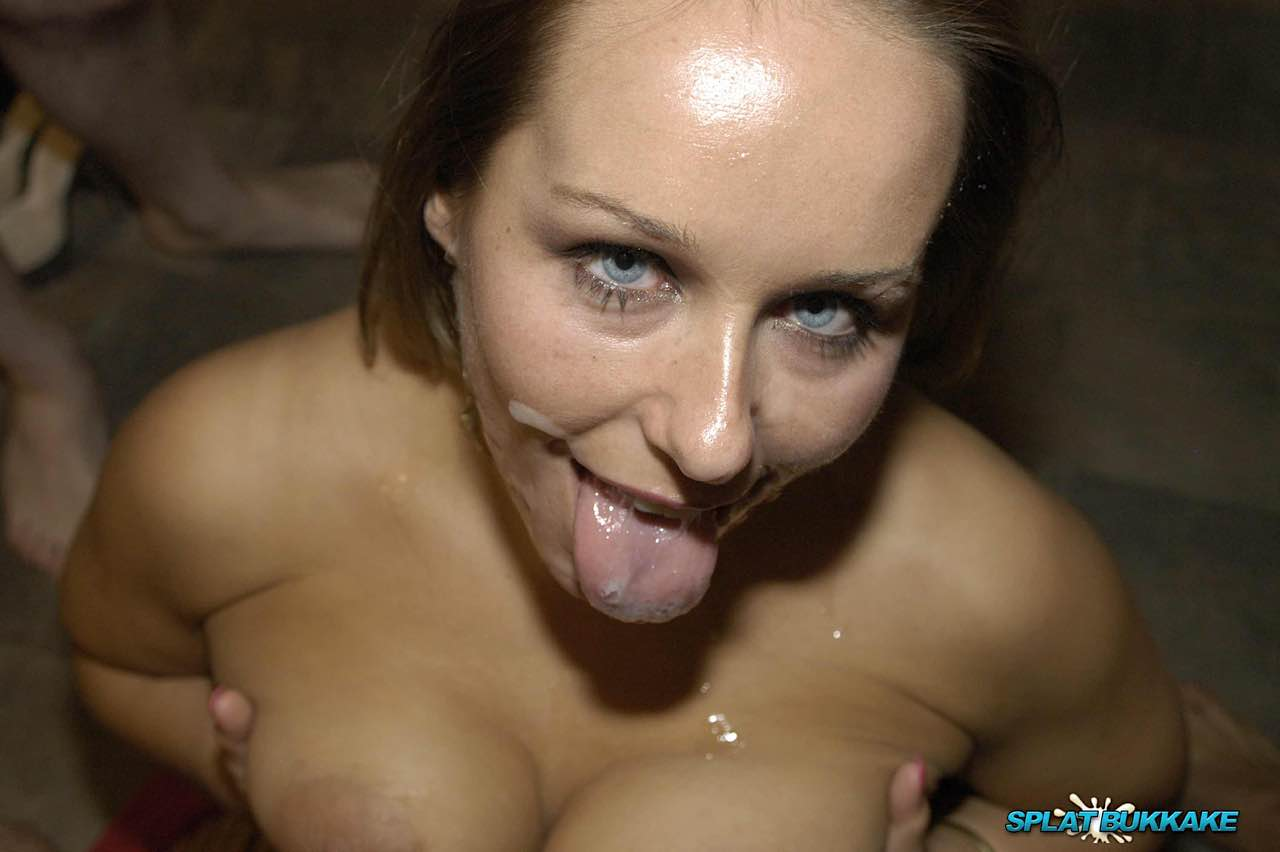 blowjob Ashley amateur facials