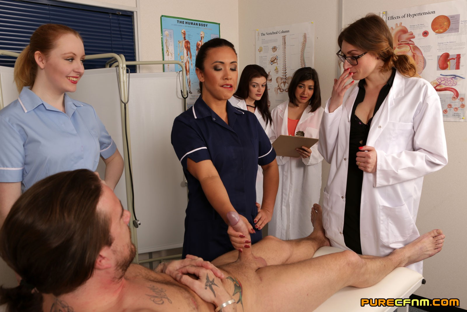 Docs Get Pleased By Naughty Patient