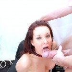 Taking on two horny cocks