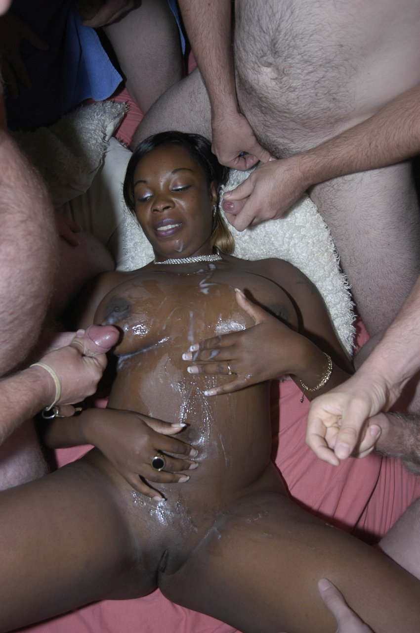 black slut for white men